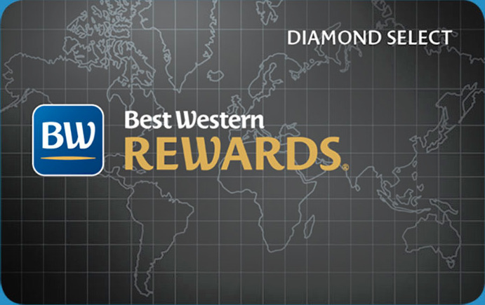 ベストウェスタンリワード、会員、ダイアモンドセレクト