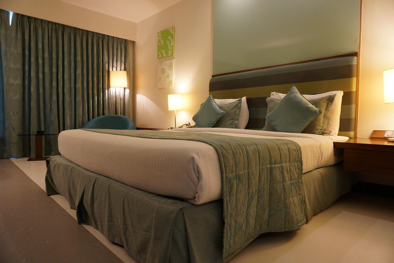 ホテル、ルーム、部屋、客室、ベッド