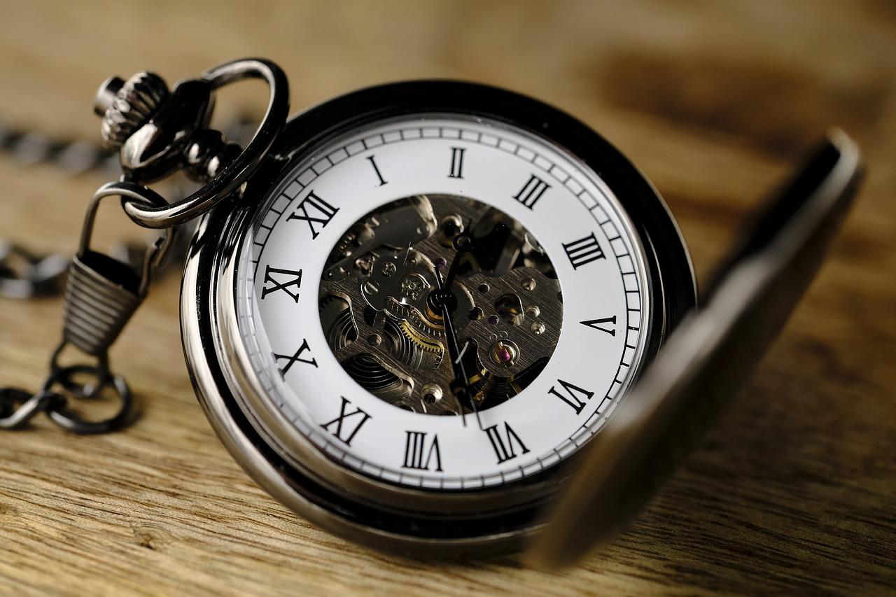 時計、時間、懐中時計