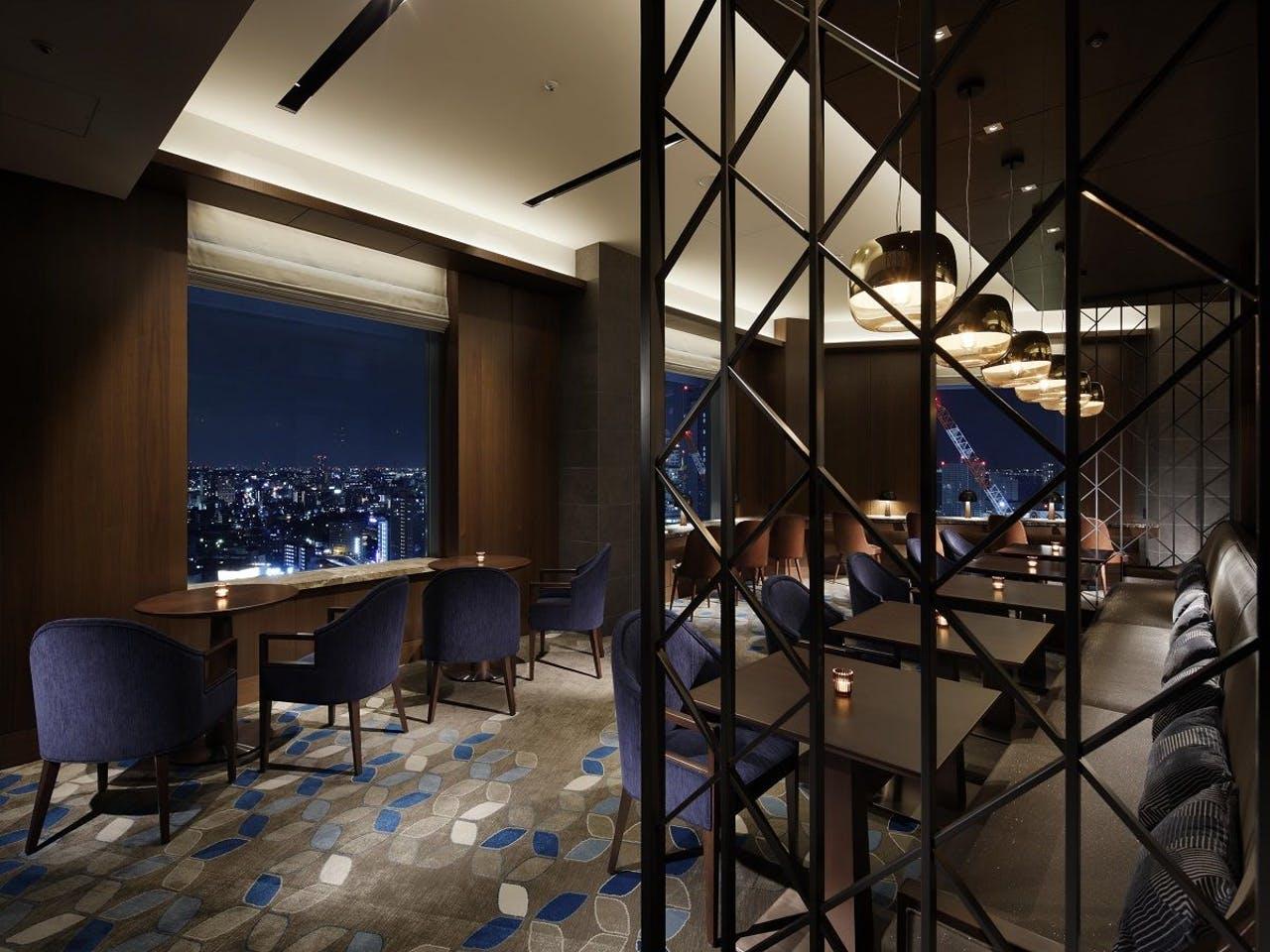 横浜ベイシェラトンホテル&タワーズ、クラブラウンジ