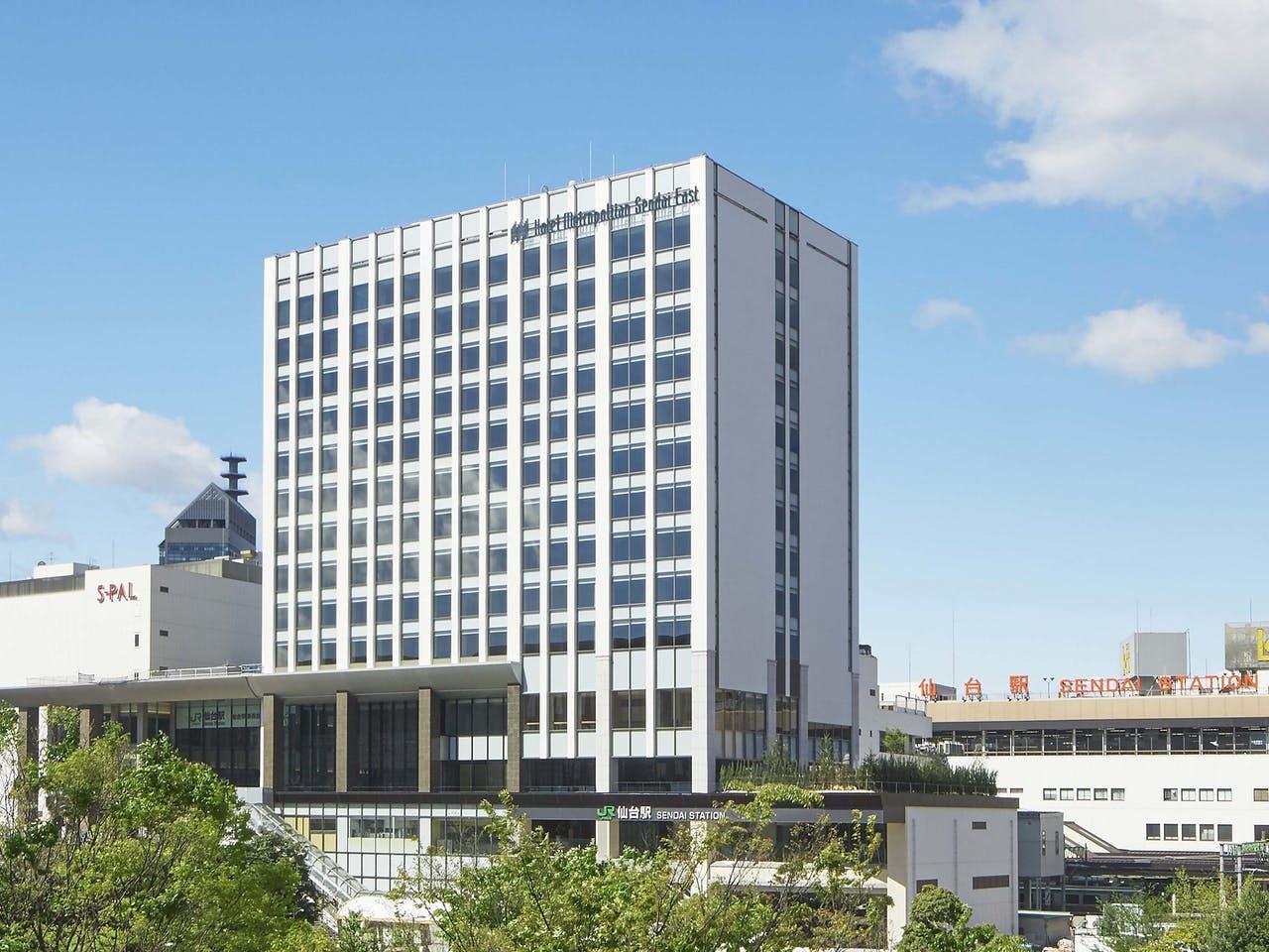 ホテルメトロポリタン仙台イースト、トップ