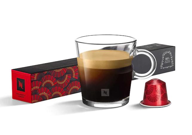 nespresso、ネスプレッソ、カプセル、シャンハイ・ルンゴ