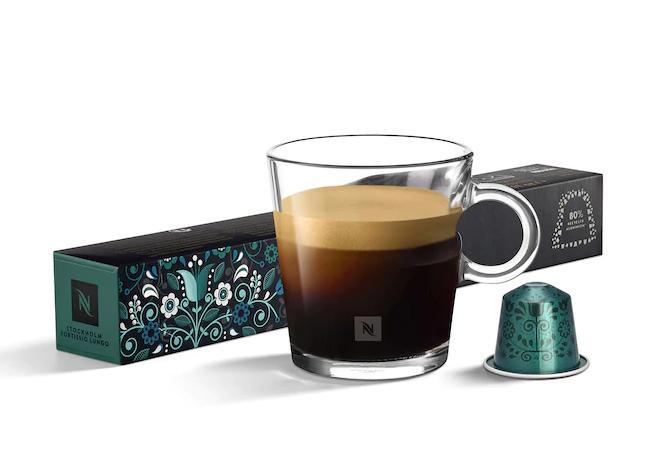 nespresso、ネスプレッソ、カプセル、ストックホルム・フォルティシオ・ルンゴ