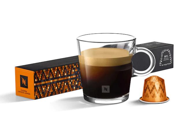 nespresso、ネスプレッソ、カプセル、ヴィエナ・リニツィオ・ルンゴ