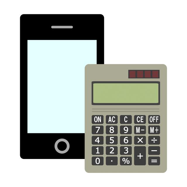 電卓、計算