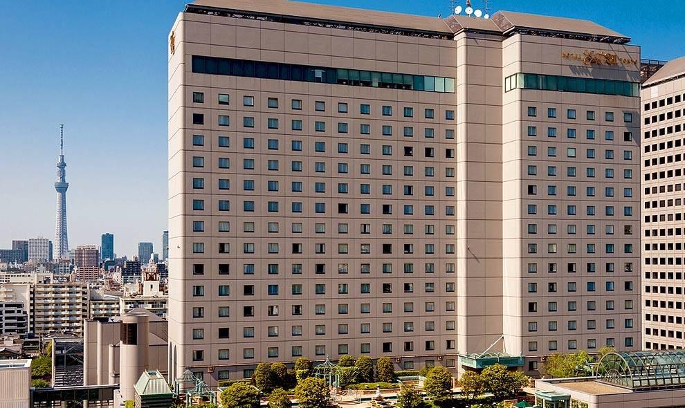 ホテル イースト21東京、トップ