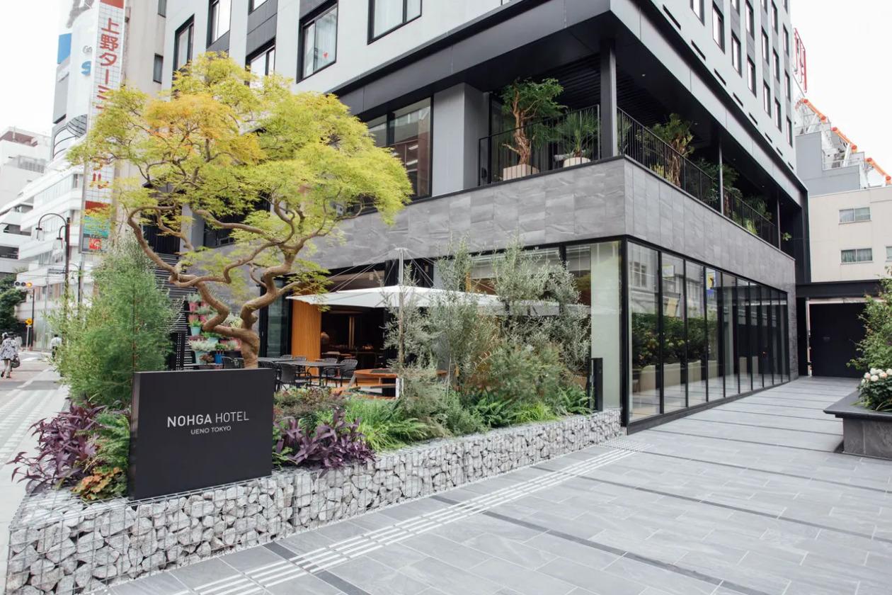 ノーガホテル上野、トップ