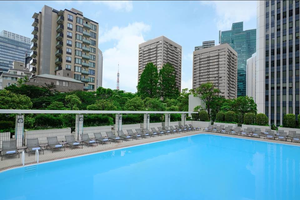 ANAインターコンチネンタルホテル東京、プール