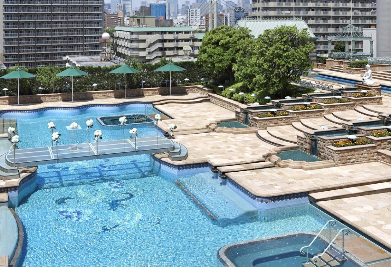 ホテルイースト21東京、プール
