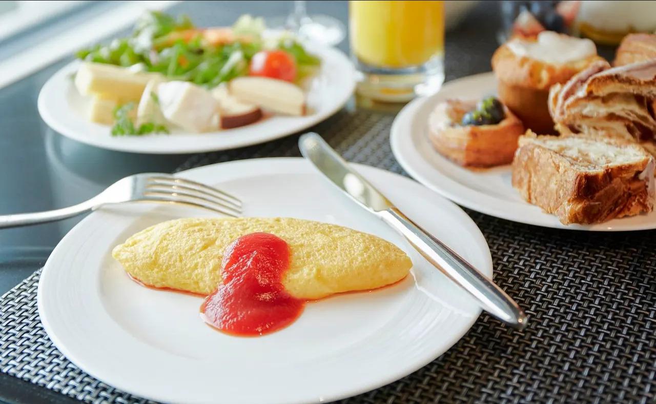 リッツ大阪、朝食
